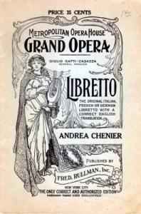 Libretto_Cover_Andrea_Chenier
